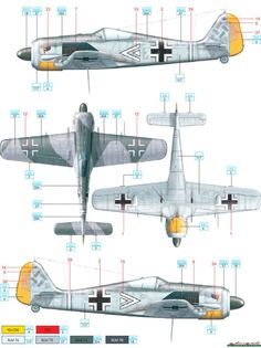 Fw 190A-5 JG 2 Mayer Color Profile