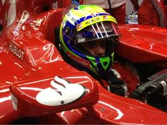 Felipe Massa in the cockpit (Barcelona, Day 4)
