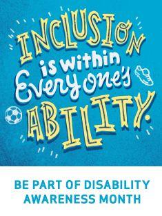 Indiana Disability Awareness Month