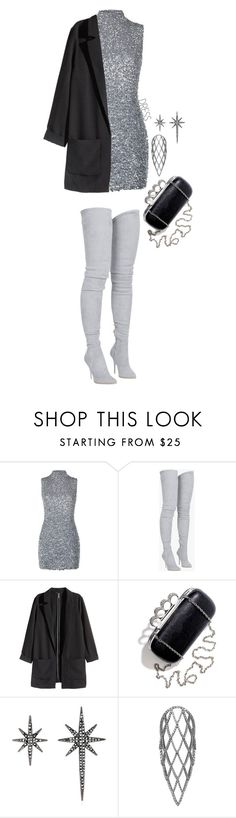 """""""1222."""" by asoul4 ❤ liked on Polyvore featuring Harrods, Balmain, H&M, Federica Tosi, Sidney Chung and partydress"""