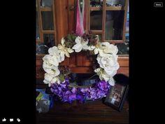 Fun colorful wreath