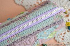 【艾米果原创】梦幻紫色口金工具小包