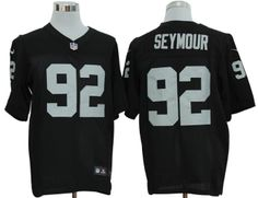 Nike Raiders  92 Richard Seymour Black Team Color Mens NFL Elite Jersey And   Cowboys 2db2bc8d7