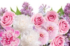 flowers peonies roses lilacs flowers peonies roses lilacs wallpaper background
