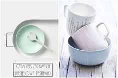 Pastelowy domek Pastel House, Mugs, Tableware, Home, Porcelain Ceramics, Dinnerware, Tumblers, Tablewares, Ad Home