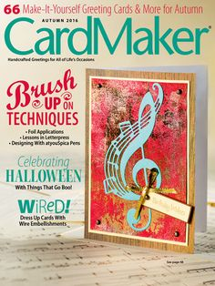 CardMaker Autumn 2016. Order here: https://www.anniescatalog.com/detail.html?prod_id=132520