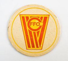 """DDR Museum - Museum: Objektdatenbank - """"Bierdeckel FC Frankfurt Oder"""" Copyright: DDR Museum, Berlin. Eine kommerzielle Nutzung des Bildes ist nicht erlaubt, but feel free to repin it!"""