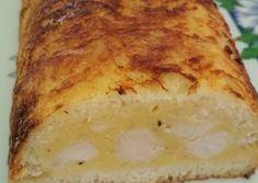 Sajtos csirkemell fokhagymás pirítós kenyérben | Varga Erika receptje - Cookpad receptek Banana Bread, Bacon, Desserts, Food, Tailgate Desserts, Deserts, Essen, Postres, Meals