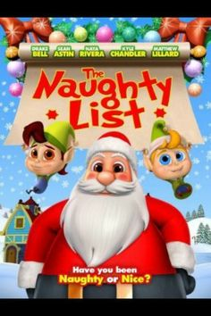 "We're giving away 3 copies of ""The Naughty List"" - enter online at http://catholicmom.com/2013/11/23/the-naughty-list-film-review-giveaway/ Good luck!"