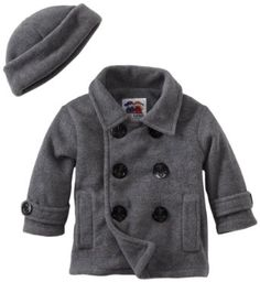 Amazon.com: Good Lad Baby-Boys Infant Peacoat with Hat: Clothing
