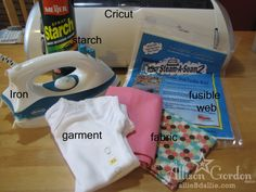 Cutting Fabric with the Cricut - Tutorial with lots of tips and tricks for success.