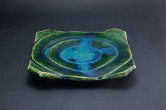 織部刻文俎板皿 Chopping board plate with engraved, Oribe type 2012 Decorative Bowls, Dish, Pottery, Plates, Ceramics, Type, Board, Home Decor, Ceramica