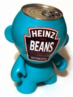 Toy048 Heinz Beans Munny by Sket One from Kid Robot (2007) / #Toy
