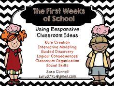 First Grade Funtastic: Responsive Classroom