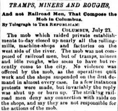 1877 Railroad Strike | Beyond the Bubble