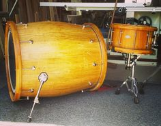 Wine Barrel Drum...  Now THAT'S a NEW one on me.....  I'll DRINK to THAT!