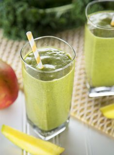 Kale Mango Smoothie Recipe