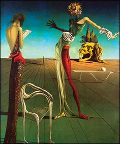 Salvador Dali - Flower Head - Poster
