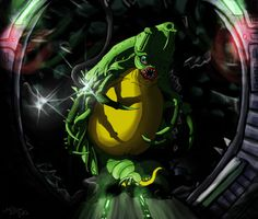 Super Metroid - Draygon by =KazMazter