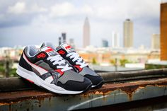 PUMA Trinomic XT 1 Plus in New Spring 2014 Colourway - Black, red and grey