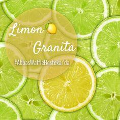 Bardakları boşaltın! Sicilya'dan Limon Granita'mız geldi.