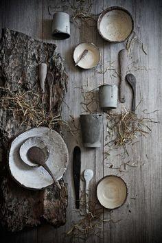 My ceramics as props - Florcita