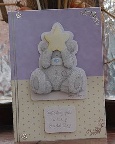 Tatty Teddy decoupage