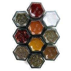 Magnetic spice set