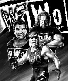 Nwo Wrestling, Wrestling Posters, Wwe Lucha, Iron Maiden Powerslave, Kevin Nash, Wwe News, John Cena, Professional Wrestling, Lucha Libre