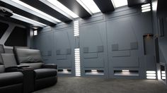 The Herne Hill home theatre took many weeks to build but was a labour of love.