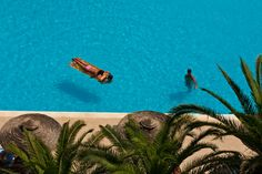 Pool Beach Hotels, Rhodes, Painting, Art, Art Background, Painting Art, Kunst, Paintings, Performing Arts
