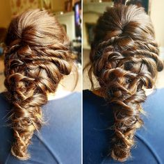 A recent hair creation of mine! Hair Creations, Dreadlocks, Hair Styles, Makeup, Models, Beauty, Business, Hair Plait Styles, Make Up