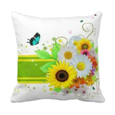 ==> reviews          Happy Daisies Throw Pillows           Happy Daisies Throw Pillows We have the best promotion for you and if you are interested in the related item or need more information reviews from the x customer who are own of them before please follow the link to see fully reviewsThi...Cleck Hot Deals >>> http://www.zazzle.com/happy_daisies_throw_pillows-189315465610988796?rf=238627982471231924&zbar=1&tc=terrest