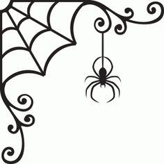 Welcome to the Silhouette Design Store, your source for craft machine cut files, fonts, SVGs, and other digital content for use with the Silhouette CAMEO® and other electronic cutting machines. Halloween Spider, Holidays Halloween, Halloween Crafts, Halloween Decorations, Halloween Vinyl, Halloween Patterns, Spider Costume, Halloween Window, Halloween Clipart