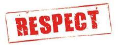 Respect voor een ander. Respecteer een ander zijn normen en waarden. Beoordeel iemand niet op zijn uiterlijk, geloof of ras.