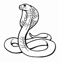 the cobra is an emblem of lower egypt it is associated with the animal coloring pagescoloring