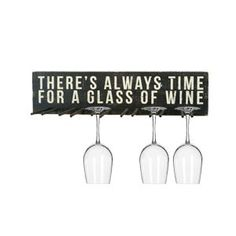 The Wood Sign Wine Glass Rack
