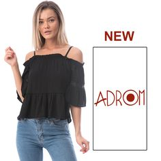 Descoperă bluza plină de feminitate, marca Adrom Collection​.♣️ Model din imagine se poate achiziționa de aici↙️ http://www.adromcollection.ro/1615-bluza-angro-0160.html