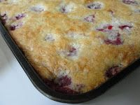 Strawberry Cobbler with Bisquick Topping