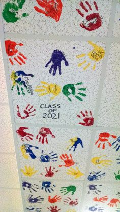 painted school ceiling tiles - Google Search More