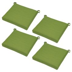 Belvedere 4pk Side Dining Chair Cushions Green - Threshold