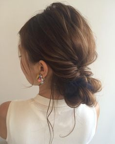 色気が急上昇秋のモテきゅんヘアアレンジは魚住理恵子さんに学べ Party Hairstyles, Vintage Hairstyles, Wedding Hairstyles, Bridal Hairdo, Hairdo Wedding, Medium Hair Styles, Short Hair Styles, Hair Upstyles, Hair Arrange