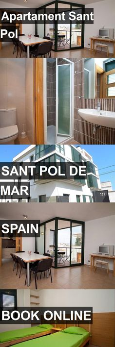 Hotel Apartament Sant Pol in Sant Pol de Mar, Spain. For more information, photos, reviews and best prices please follow the link. #Spain #SantPoldeMar #travel #vacation #hotel