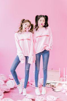 Korean Fashion – How to Dress up Korean Style – Designer Fashion Tips Korean Fashion Trends, Korea Fashion, Kpop Fashion, Kawaii Fashion, Cute Fashion, Asian Fashion, Girl Fashion, Fashion Outfits, Ulzzang Fashion