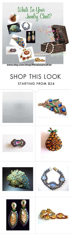 """""""What's In Your Jewelry Chest"""" by renaissance-fair ❤ liked on Polyvore"""