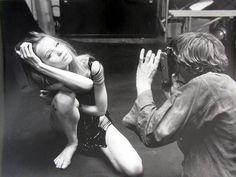 -Blow-Up -directed by Michelangelo Antonioni -1966(David Hemmings and Verushka)