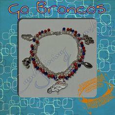 Check out this item in my Etsy shop https://www.etsy.com/listing/181241665/denver-broncos-charm-bracelet
