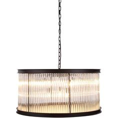 """Royale 32"""" Crystal Pendant Chandelier with 9 Lights"""