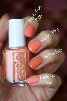 Yay! The Essie Resort 2016 Collection is finally here! I was soooo looking forward to this collection and anticipating my fave online s...