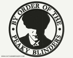 Peaky Blinders Theme, Peaky Blinders Poster, Cillian Murphy Peaky Blinders, Cactus Embroidery, Diy Embroidery, Machine Embroidery Designs, Peaky Blinders Merchandise, Estilo Gangster, Death Proof